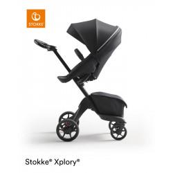 silla de paseo xplory x de stokke en el color rich black