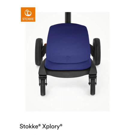 silla de paseo xplory x de stokke en el color royal blue