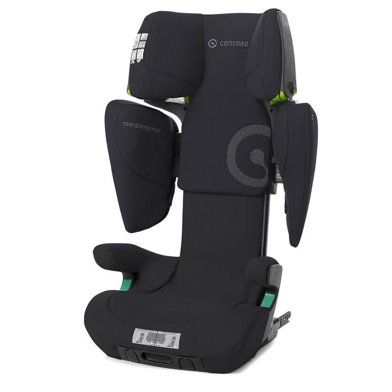 silla de coche transformer i plus de concord en color soft black
