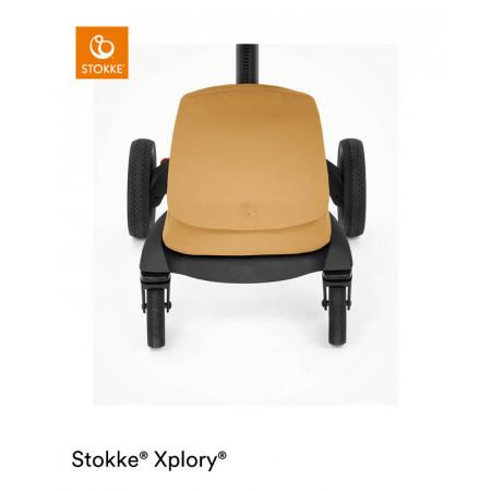 silla de paseo xplory x de stokke en el color golden yellow