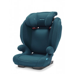 silla de coche monza nova 2 seatfix en color select teal green