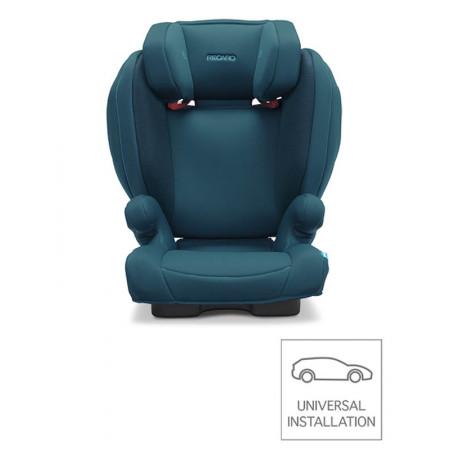 silla de coche monza nova 2 seatfix en color select teal green