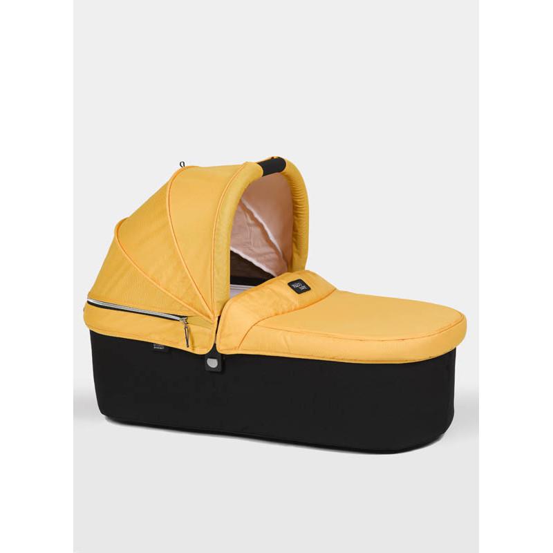 capazo para la silla snap original de valcobaby en el color yellow