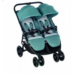 silla de paseo gemelar twinlink 2021 de jane en el color mild blue
