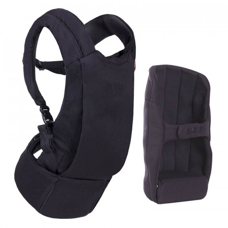 mochila portabebes juno de mountain buggy en color negro