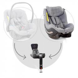 avionaut silla de coche aerofix con base en el color grey melange
