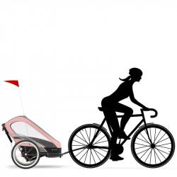 kit de ciclismo para silla de paseo zeno de cybex sport