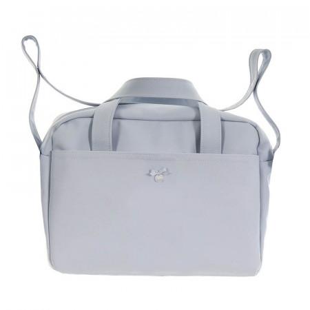 bolso de maternidad pol 2600 de uzturre en color azul