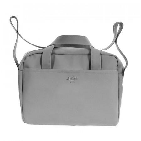 bolso de maternidad pol 2600 de uzturre en color gris