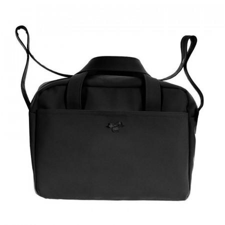 bolso de maternidad pol 2600 de uzturre en color negro