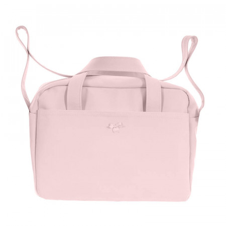 bolso de maternidad pol 2600 de uzturre en color rosa