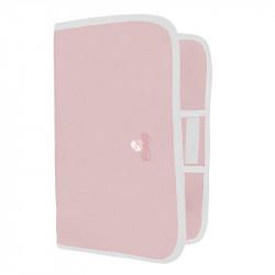 portadocumentos pol 3300 de Uzturre en color rosa empolvado