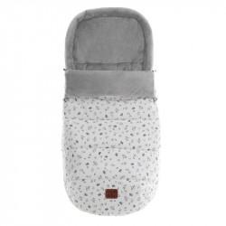 saco de invierno para capazo julieta en color gris
