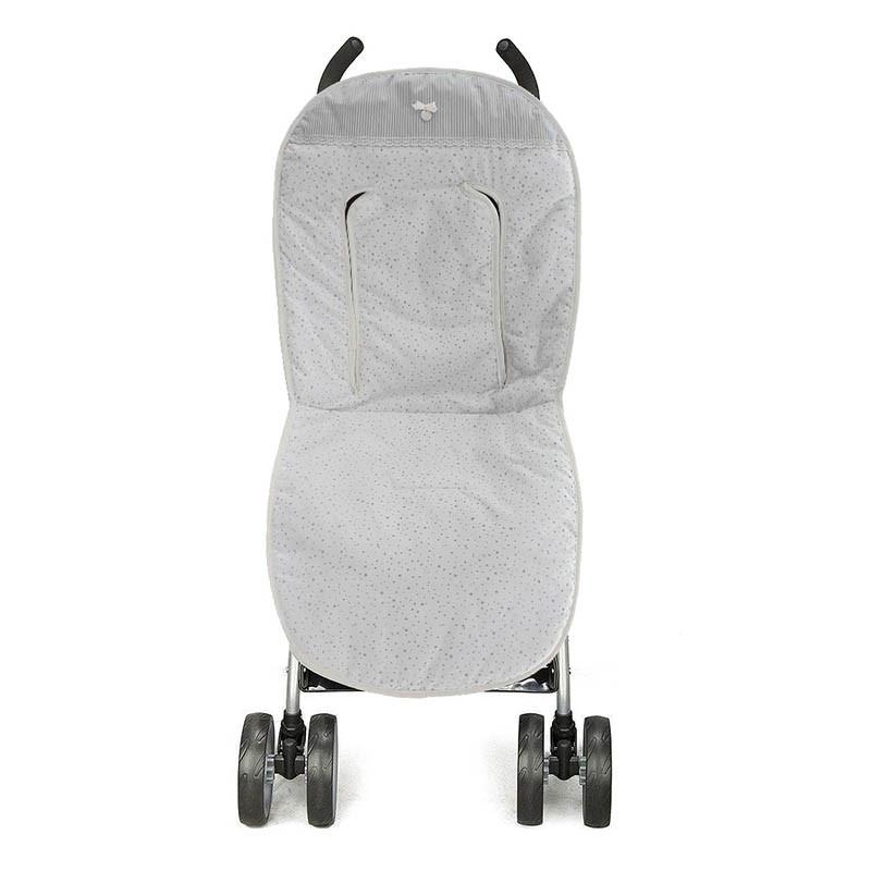 funda para silla de paseo amelie en color gris