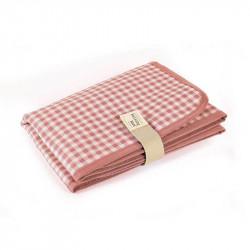 cambiador de la colección vichy de walking mum en color rosa