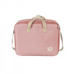 maleta de la colección i love vichy de walking mum en color rosa