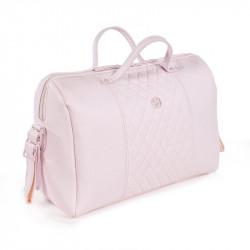 bolso de paseo María de pasito a pasito en color rosa