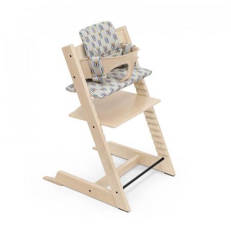 cojin para silla tripp trapp de stokke en robot grey