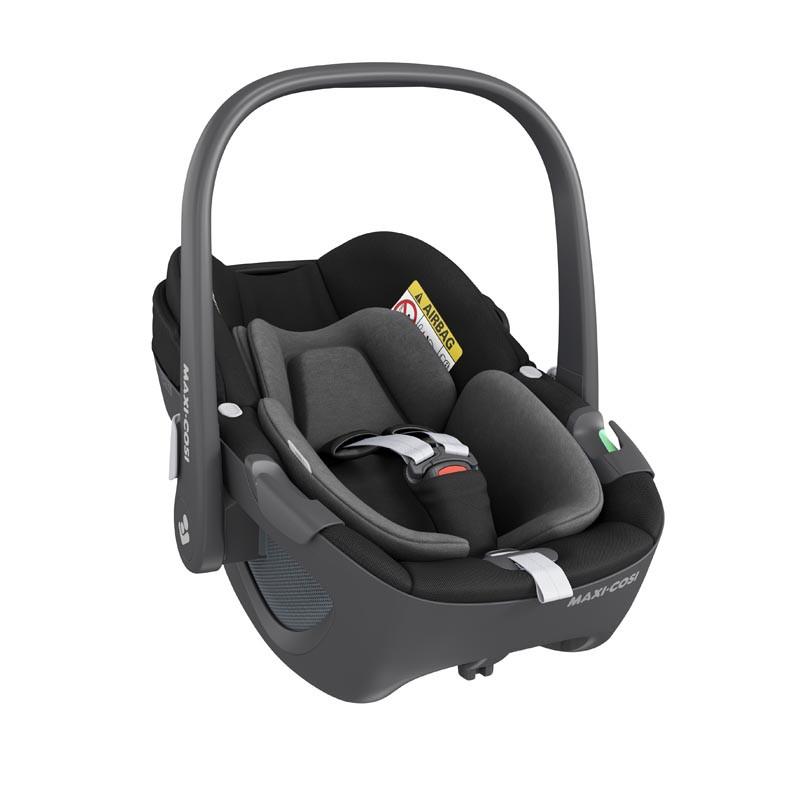 silla de coche pebble 360 de maxi cosi en el color essential black