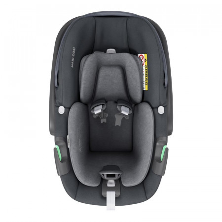 silla de coche pebble 360 de maxi cosi en el color essential graphite