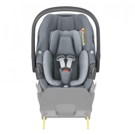 silla de coche pebble 360 de maxi cosi en el color essential grey