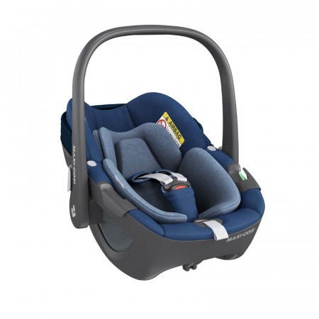 silla de coche pebble 360 de maxi cosi en el color essential blue