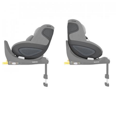 silla de coche pearl 360 de maxi cosi en el color authentic grey