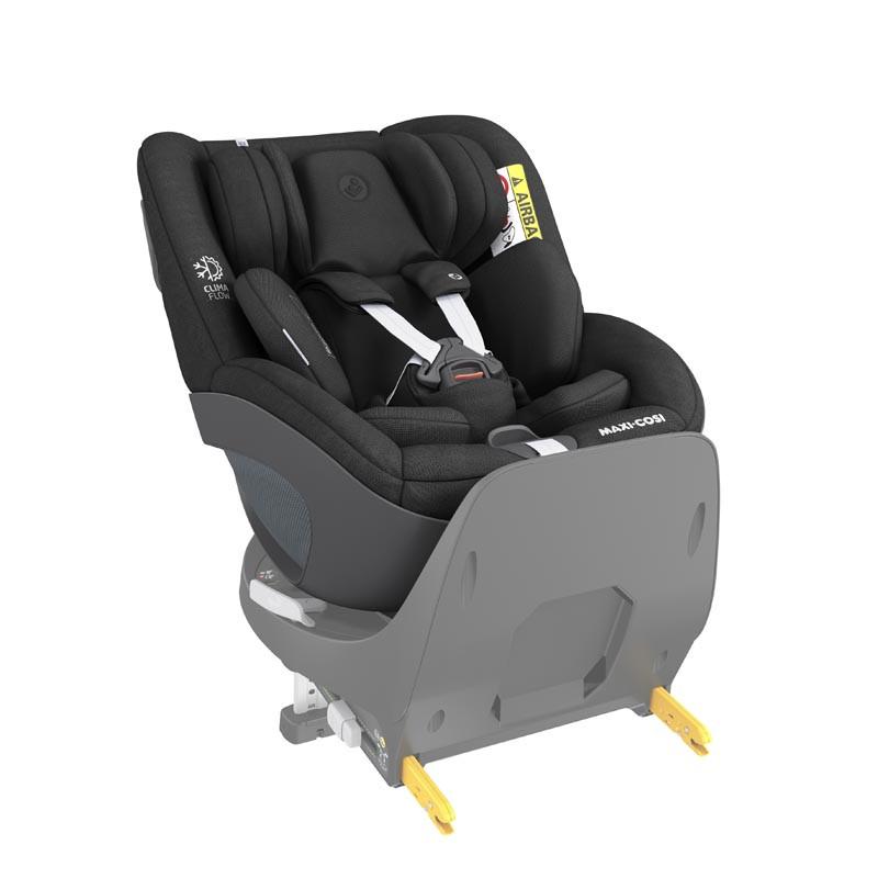 silla de coche pearl 360 de maxi cosi en el color authentic black