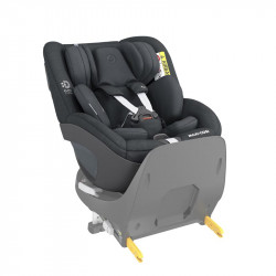 silla de coche pearl 360 de maxi cosi en el color authentic graphite