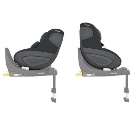 silla de coche pearl 360 de maxi cosi en el color authentic graphite
