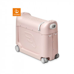 maleta jetkids ridebox de stokke en el color pink lemonade