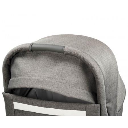 trio peg perego veloce con silla de coche Primo viaggio Lounge en color city grey