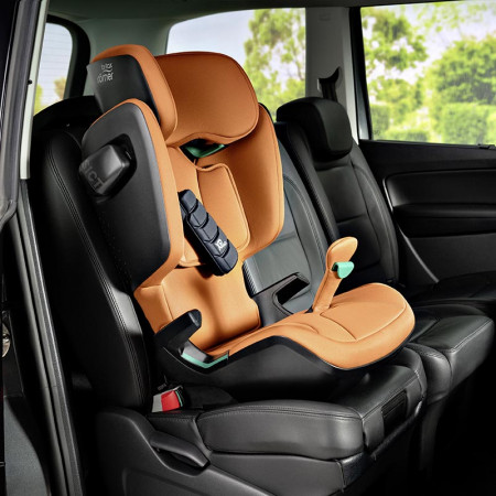 silla de coche kidfix i-size de britax römer en el color golden cognac