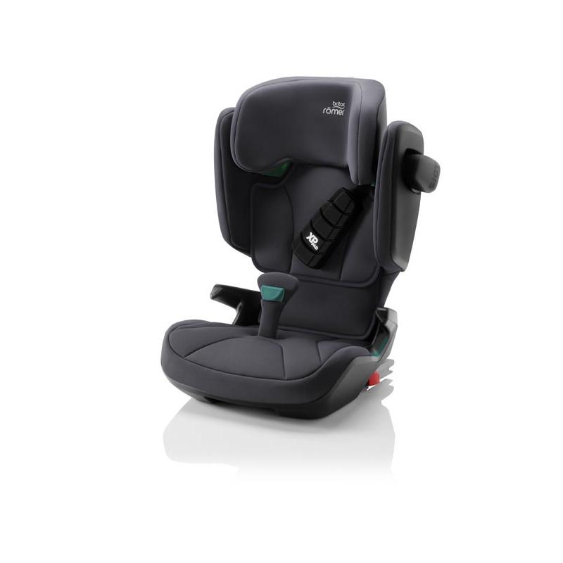 silla de coche kidfix i-size de britax römer en el color storm grey