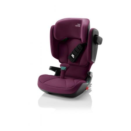 silla de coche kidfix i-size de britax römer en el color burgundy red