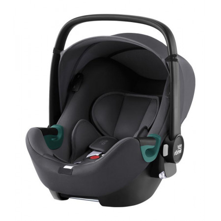 silla de coche baby-safe isense de britax romer en el color midnight grey