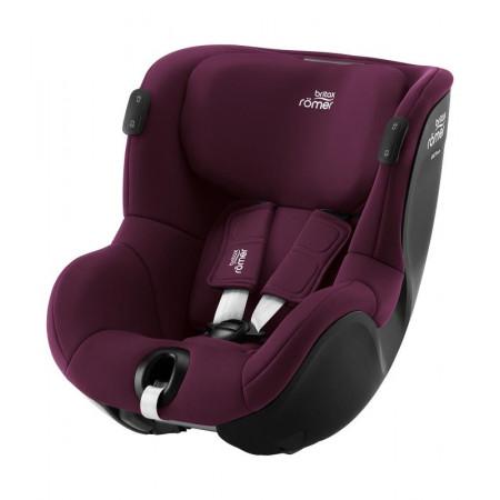 britax romer dualfix isense silla de coche en el color burgundy red