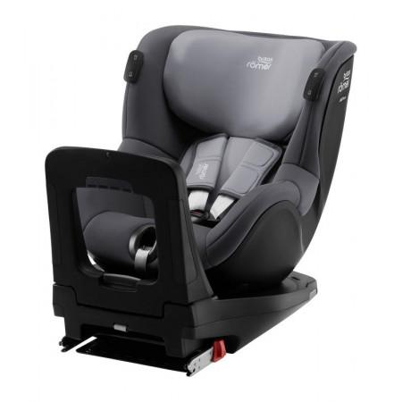 britax romer dualfix isense silla de coche y base flex isense en el color midnight grey