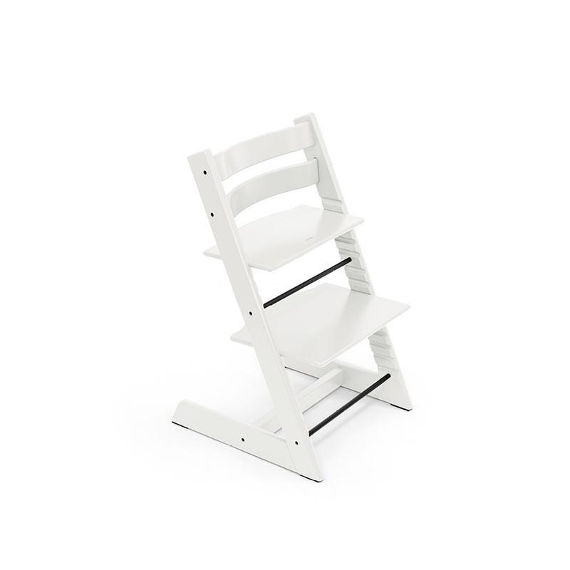 trona tripp trapp de stokke con baby set en el color blanco