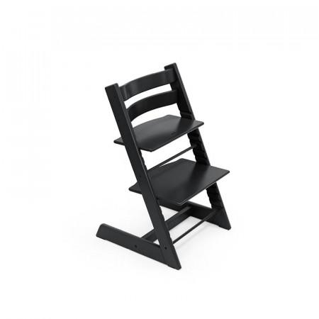 trona tripp trapp de stokke con baby set en el color negro