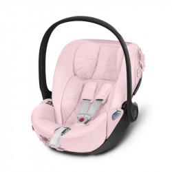 silla de coche cloud z de la colección simply flowers de cybex en el color pale blush