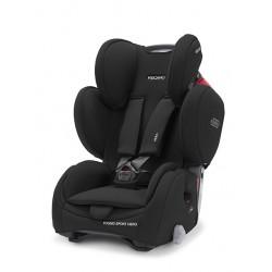 RECARO Young sport hero silla de coche en el color Core deep black