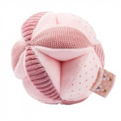 pelota de actividades de nattou en el color rosa