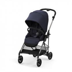 silla de paseo melio de cybex en el color navy blue