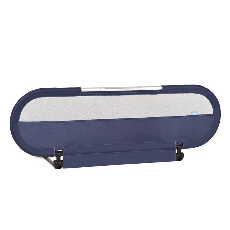 barrera de cama con luz babyhome en el color navy