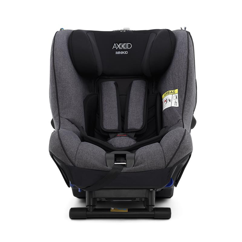 silla de coche minikid 2.0 de axkid en el color granite grey melange