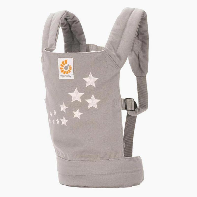 mochila portamuñecas galaxy grey