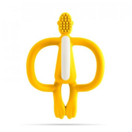 mordedor matchstick monkey en color amarillo