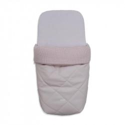 saco de invierno para capazo telmo 5100 de uzturre en color rosa