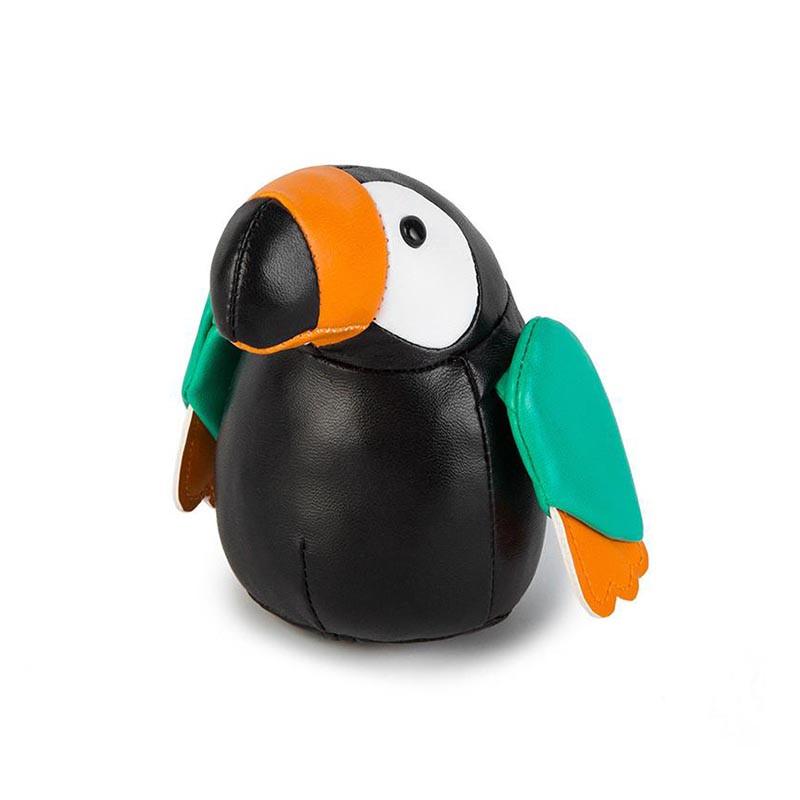 los animalitos sonajero de little big friends en el modelo tucan